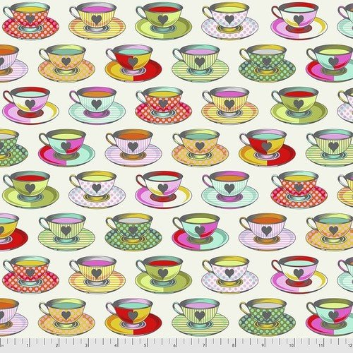 Curiouser & Curiouser  - Tula Pink - Tea Time - PWTP163.SUGAR