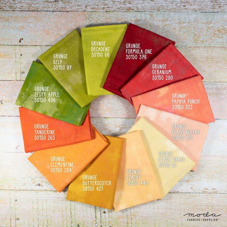 Grunge - May Basic Bundle - 12 Fat Quarters - Moda
