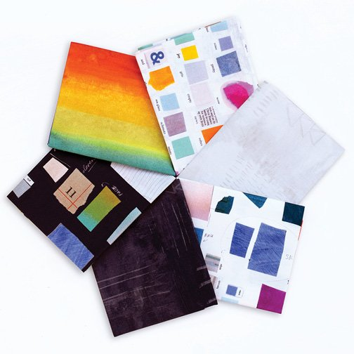 Carrie Bloomston - Color of Theory - 6 Fat Quarters
