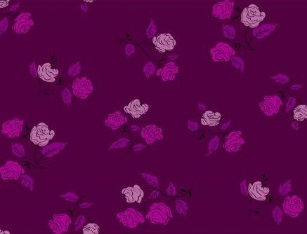 Steno Pool - Roses - Magenta - Kimberly Kight - K3065-002
