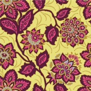 Joel Dewberry - Heirloom - Ornate Floral - JD53 -Garnet
