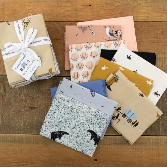Charley Harper Frontier Fat Quarter Bundle - 10 Fat Quarters