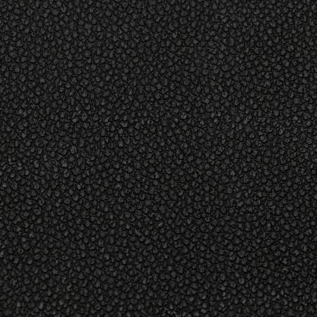 Sallie Tomato - Black Pebble Faux Leather 1/2 yard