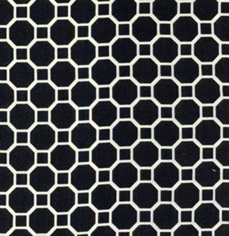 Dena Designs - Snow Flower - Snow Geo - Free Spirit Fabrics - DF31 Black