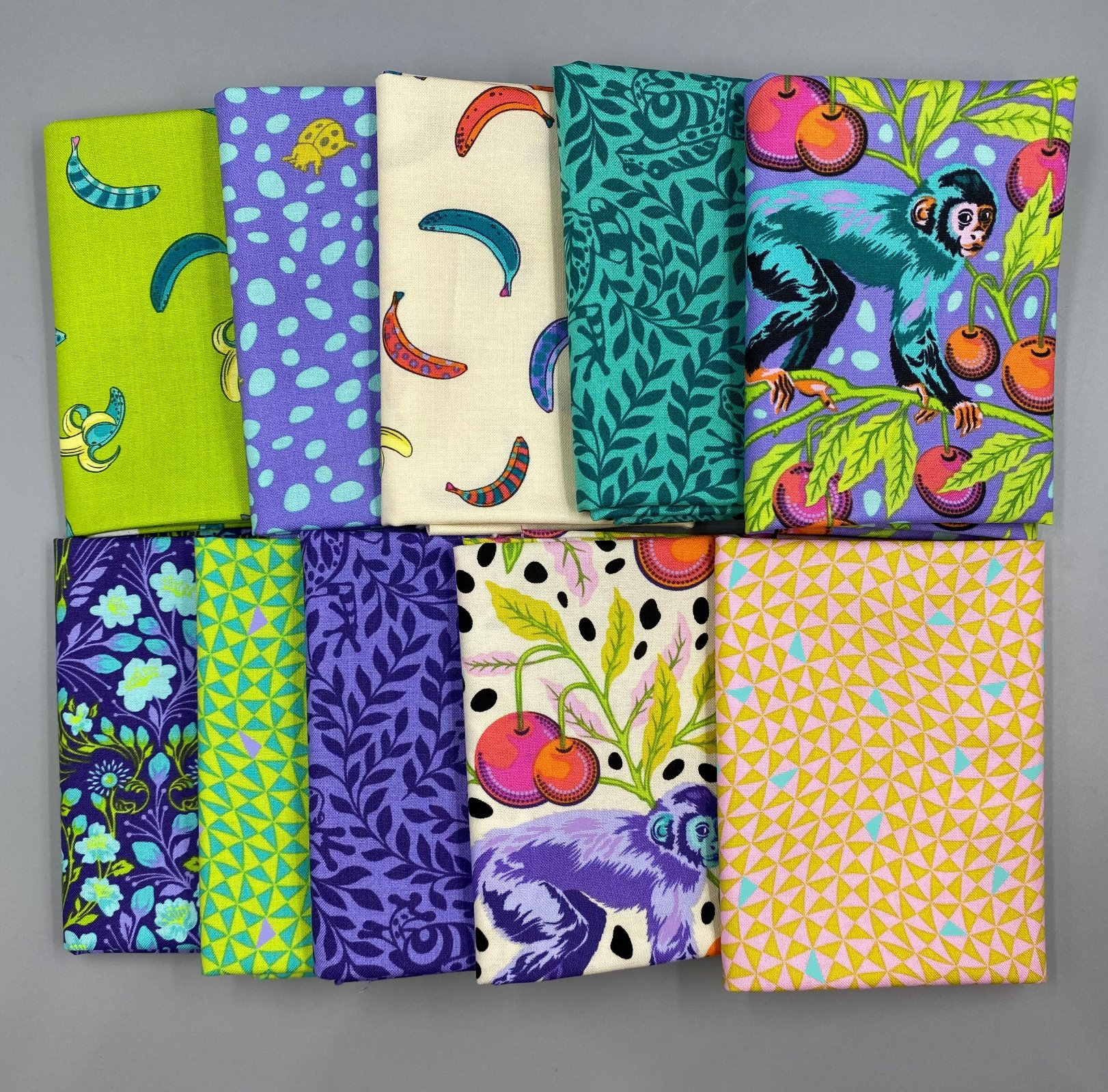 Tula Pink - Monkey Wrench - 10 Fat Quarters