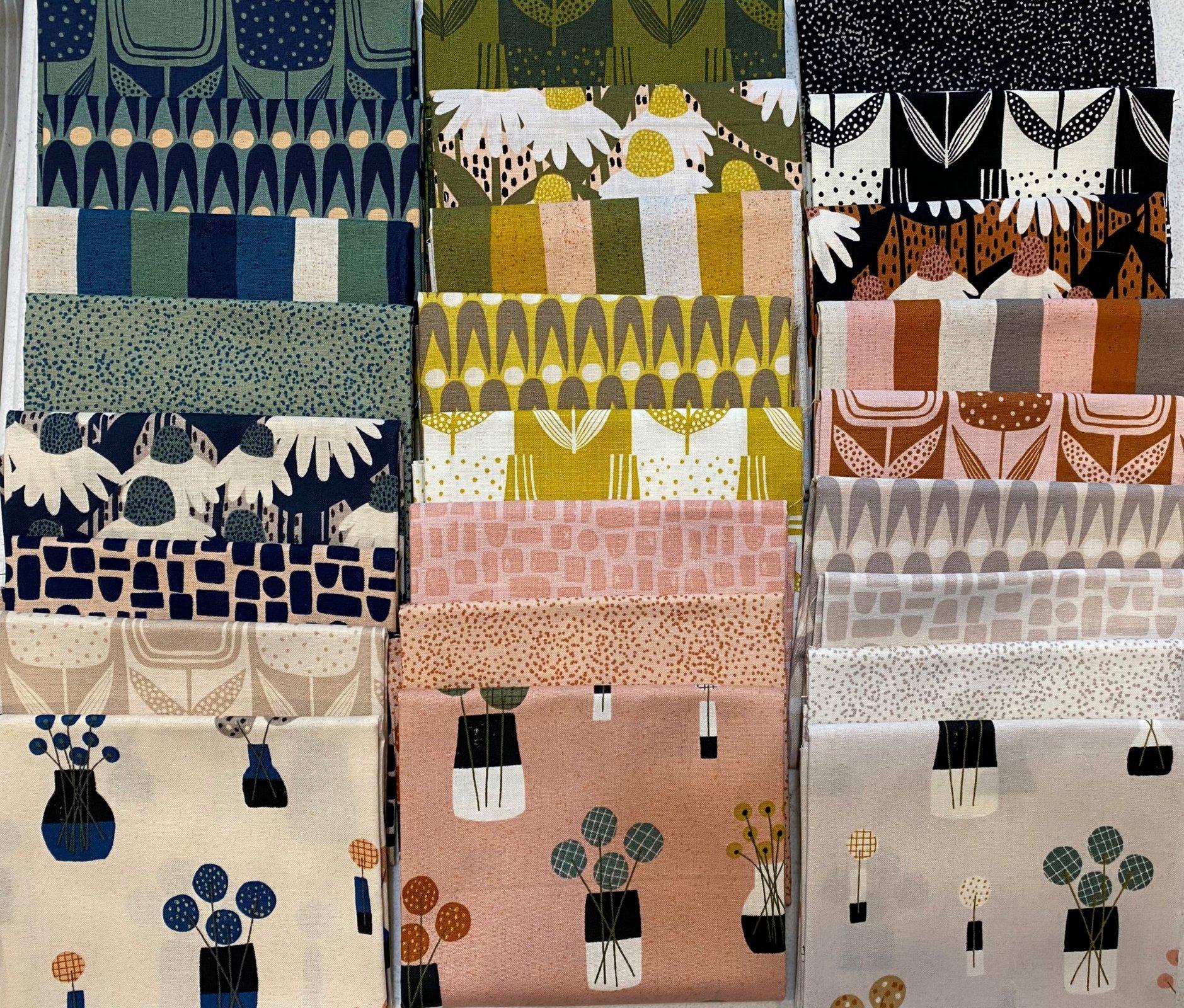 Perennial by Sarah Golden - Andover Fabrics - Fat Quarter Bundle