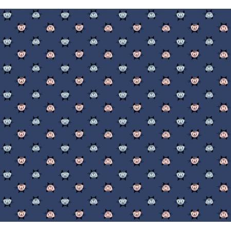 Steno Pool - Calicocats - Midnight - Kimberly Kight - K3071-001