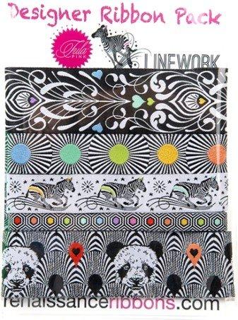 Designer Pack - Tula Pink - Renaissance Ribbon - Linework