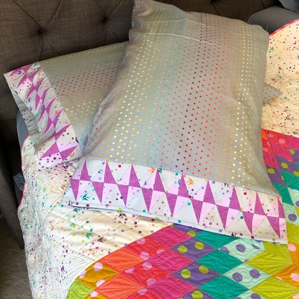 Gemstone Pillowcase Kit - Makes 2 Pillowcases - IN STOCK