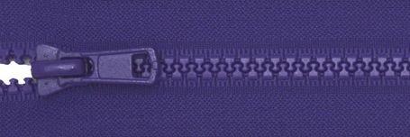 24 Seperating Zipper - Bright Periwinkle