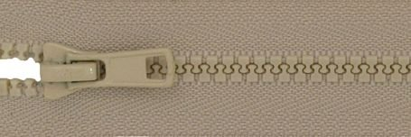 24 Seperating Zipper - Sand