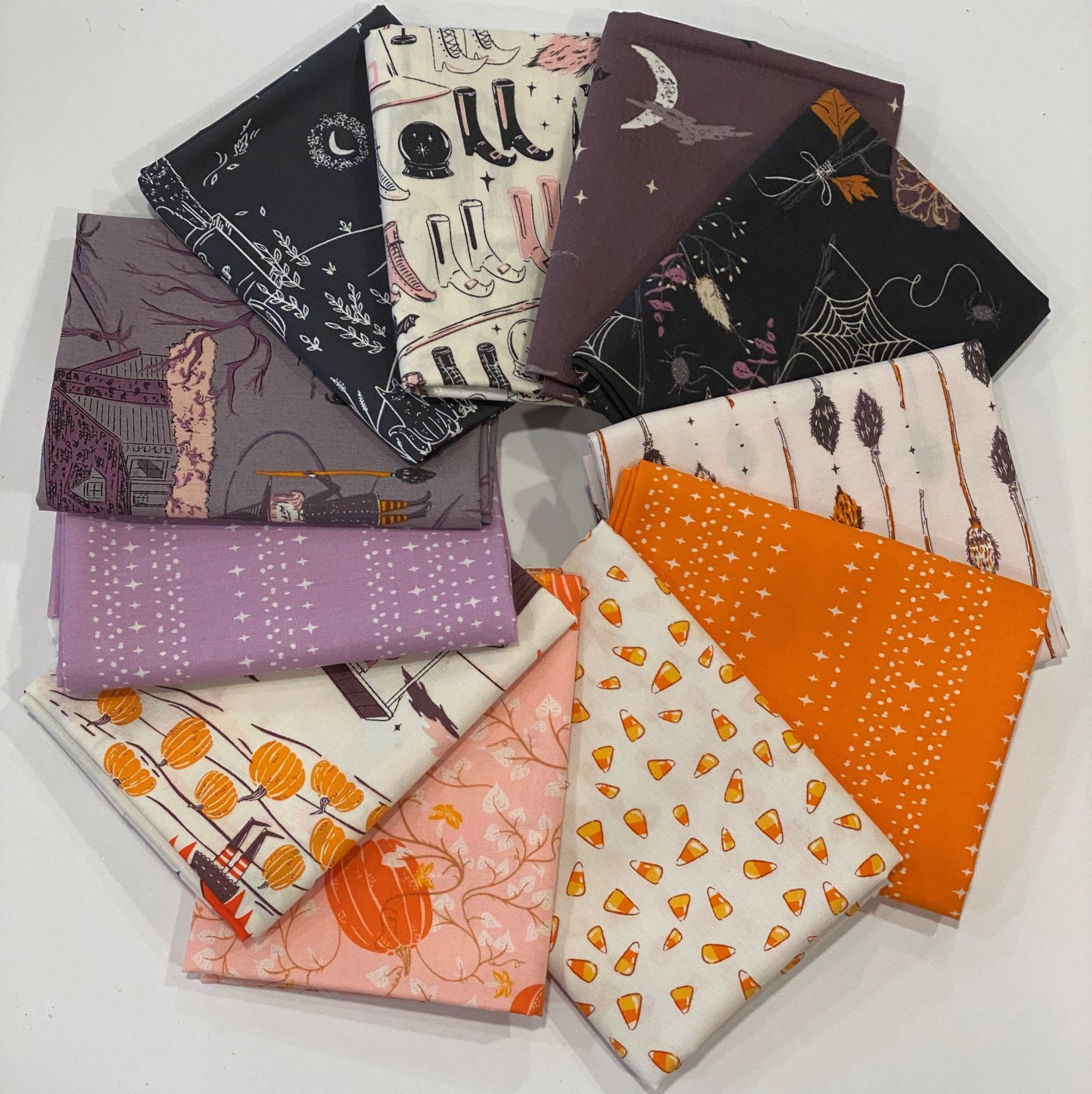 Sweet n Spooky - Custom Curated Half yard bundle - by Art Gallery Fabrics