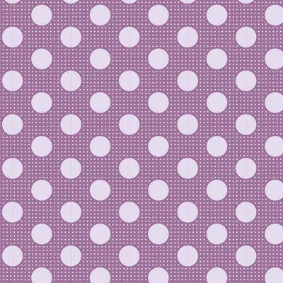 Tilda-Medium Dots Lilac - 100% Cotton - 1/2 yard