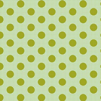 Tilda-Medium Dots Green - 100% Cotton - 1/2 yard