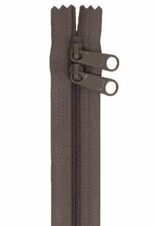 By Annie - Handbag Zipper 40 - Double-Slide - Slate Grey