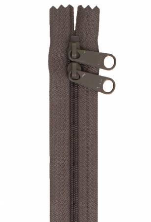 By Annie - Handbag Zipper 30 - Double-Slide - Slate Gray