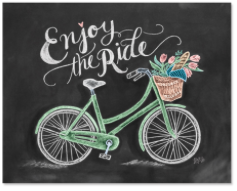 Enjoy The Ride Print