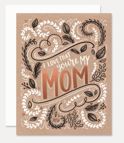 Greeting Card My Mom
