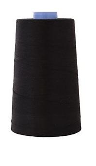 Thread - Black 100% Cotton Cone
