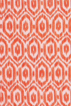 Amala Ikat Orange Cocktail Napkins