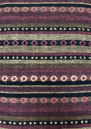 Serape - Wine Stripe