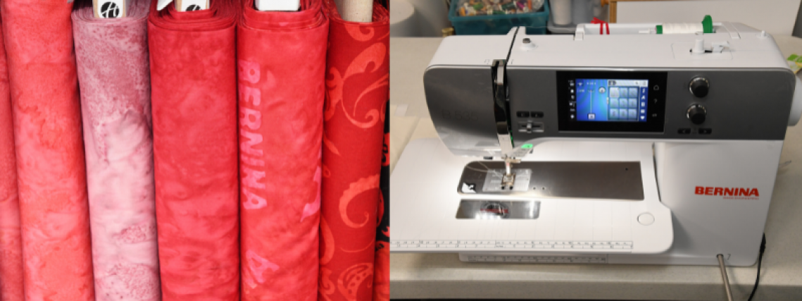 Zig-Zag Corner Quilts Sewing Quilting Authorized BERNINA sewing machine dealer Greenfield IN Sewing