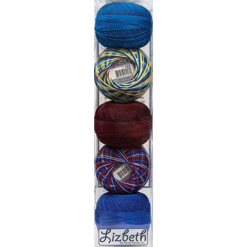 Lizbeth Thread Bundle Moonlit Glow - Size 20