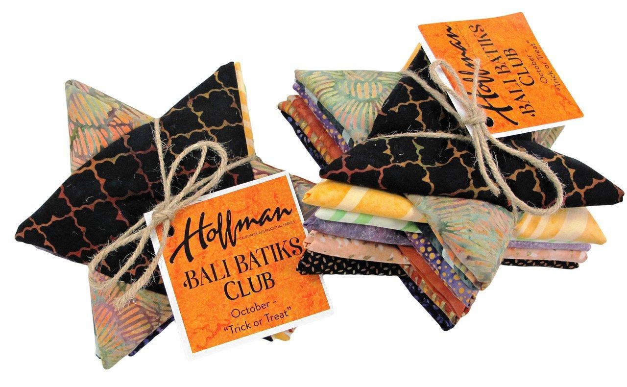 Hoffman Bali Batik Club October- Trick or Treat