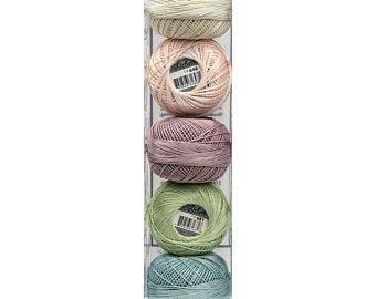 Lizbeth Thread Bundle Buttermint - Size 20
