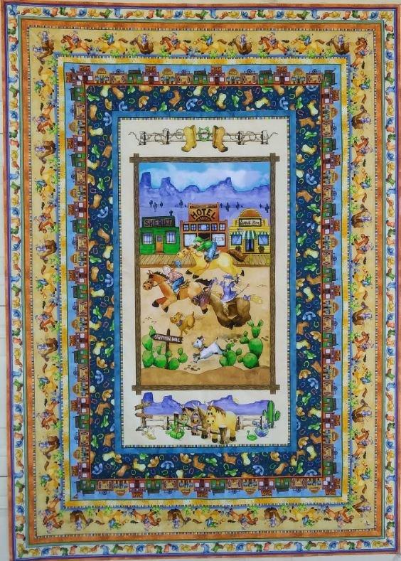 Horsin' Around Quilt Pattern (49 x 68)