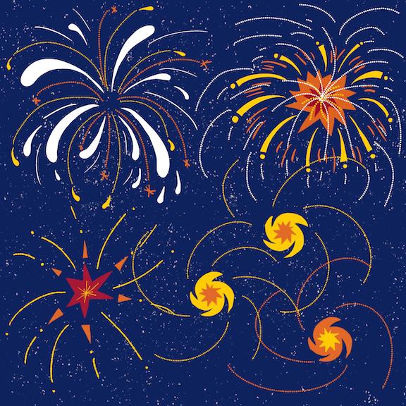 Pentwater Summer 2020 - Fireworks