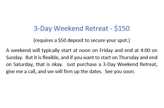 Retreat - 3-day Crop