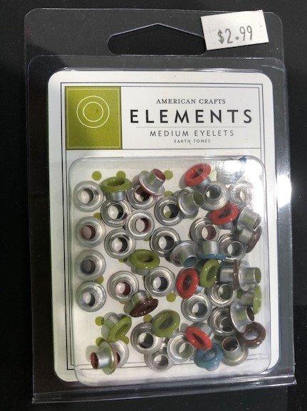 AC - Earth Tones - Medium Eyelets