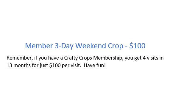 Retreat - Member - 3-day Crop