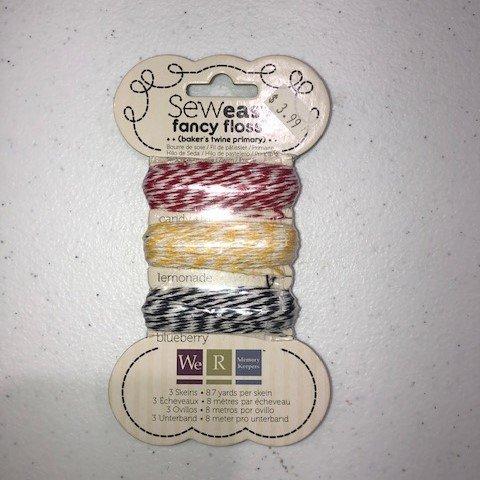 Sew Easy Fancy Floss - Bakers Twine - Primaries