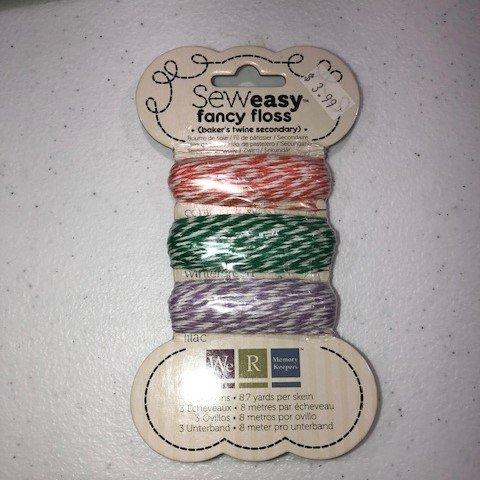 Sew Easy Fancy Floss - Baker's Twine Secondary