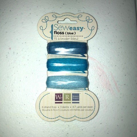 Sew Easy Floss - Blue