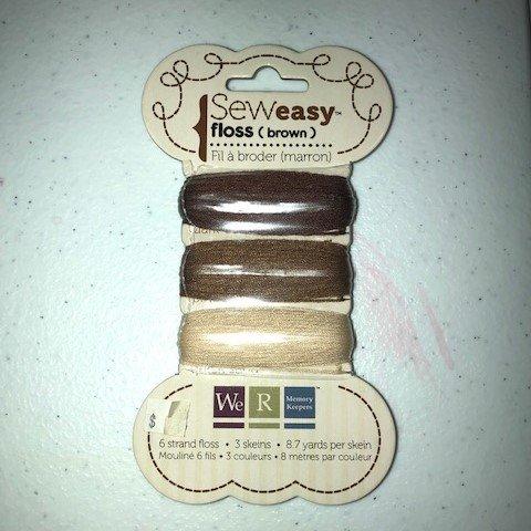 Sew Easy Floss - Brown