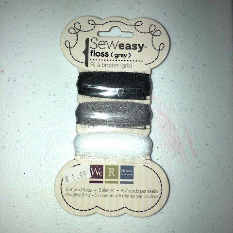 Sew Easy Floss - Grey