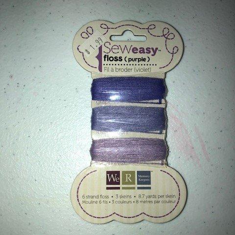 Sew Easy Floss - Purple