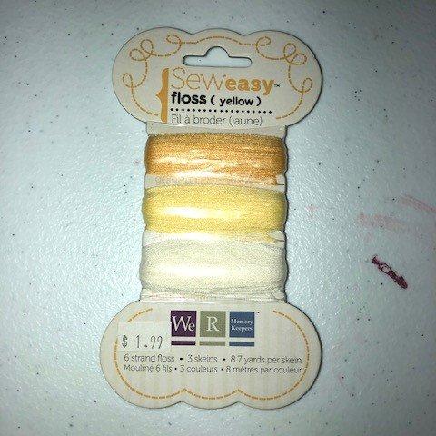 Sew Easy Floss - Yellow