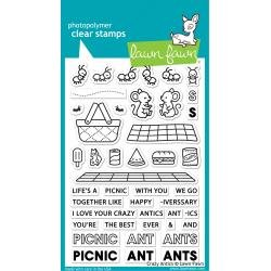 Lawn Fawn Clear Stamps 4X6 Crazy Antics
