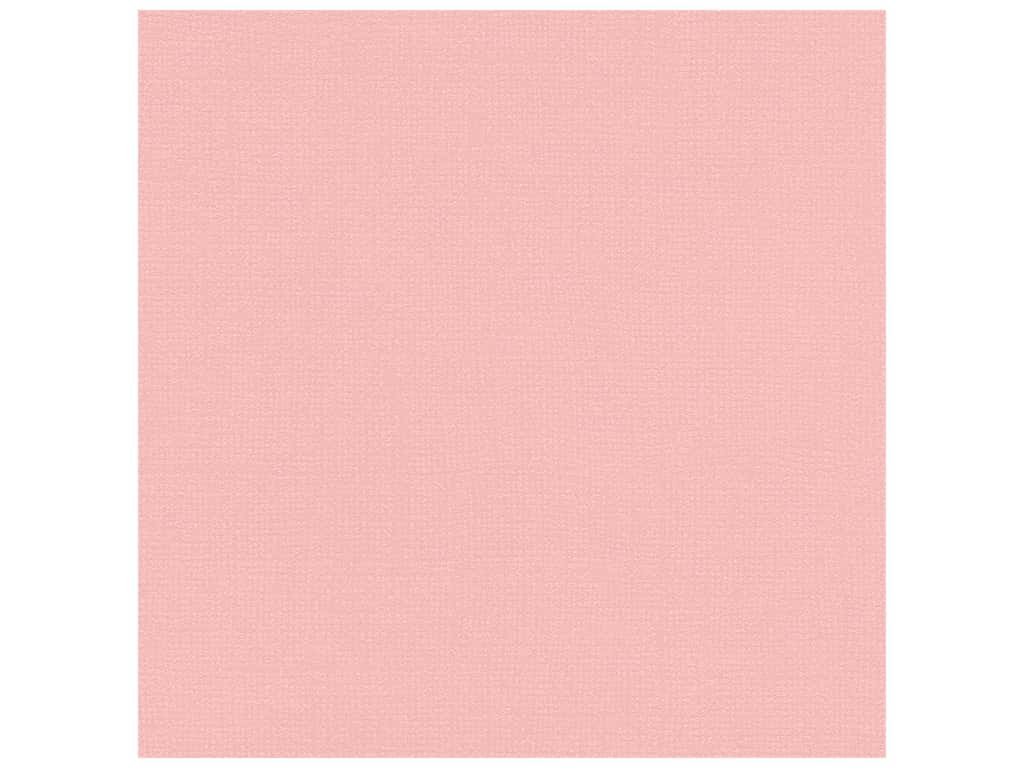 Bazzill Bling Cardstock 12X12-In The Pink