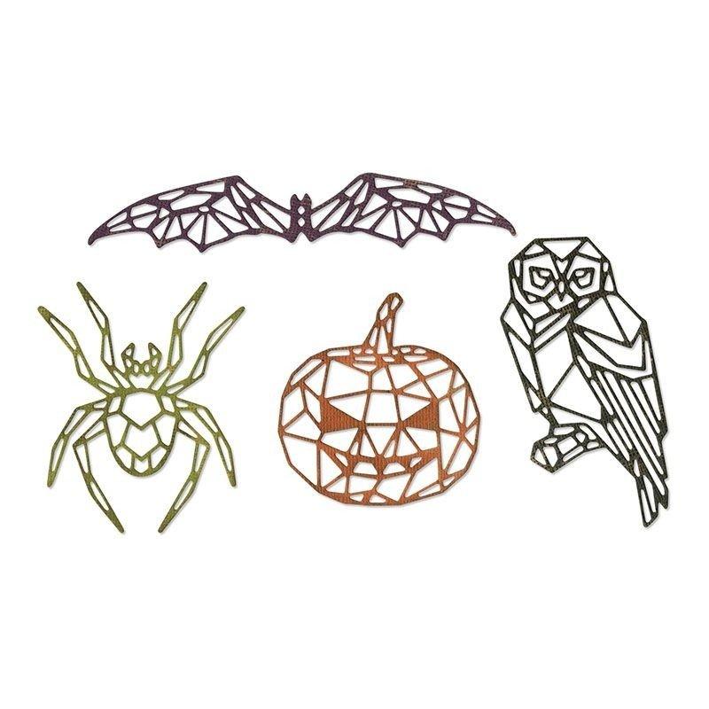 Sizzix Thinlits Dies by Tim Holtz - Geo Halloween