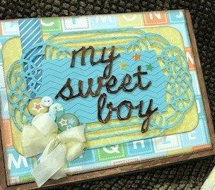 My Sweet Baby Boy Mini Album & Box