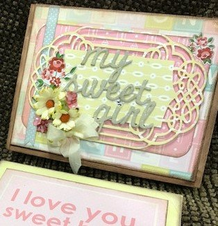 My Sweet Baby Girl Mini Album & Box
