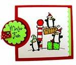 Bib Card Overlay Kit - 10 ct Holiday Variety/White