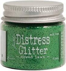 Distress Glitter- mowed lawn