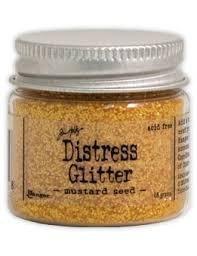 Distress glitter- mustard seed