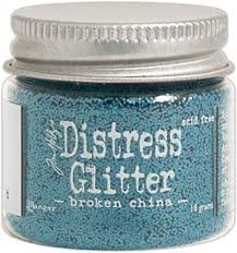 Distress glitter- broken china